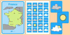 Weather Forecasting Role Play Pack France
