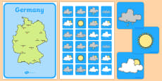 Weather Forecasting Role Play Pack Germany