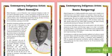 Aboriginal Artists Fact File