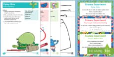 EYFS Science Experiments Resource Pack to Support Teaching on Aliens Love Underpants