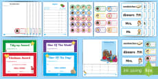 School Role Play Pack