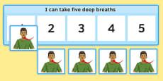KS3 I Can Take Five Breaths