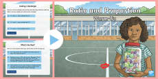 Y6 Ratio and Proportion Warm-Up PowerPoint