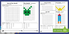Back to Earth with a Bump Grid References Activity Sheets