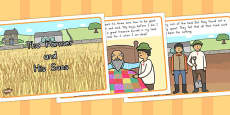 Australia - The Farmer and His Sons Story Sequencing Cards