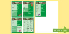 * NEW * Year 3 Plants Scientific Vocabulary Flashcards