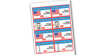 Washington DC Tourist Attraction Role Play Tickets