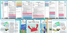 EYFS Under the Sea Adult Input Planning Pack