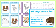 Toilet Training  Activity Pack Te Reo Māori / English