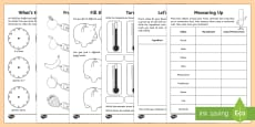 Year 2 Maths Measurement Activity Booklet
