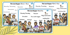 The Last Supper Word Mat