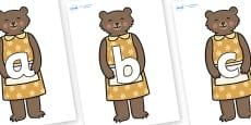 Phoneme Set on Mummy Bear