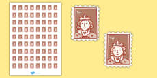 Post Office (Role Play) First Class Stamps