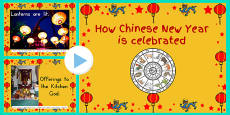 Australia - How Chinese New Year Is Celebrated Photo PowerPoint