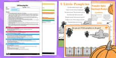 5 Little Pumpkins EYFS Busy Bag Plan and Resource Pack