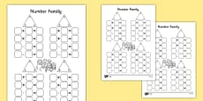 Number Family Activity Sheet Pack