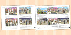 The Wedding Feast Storyboard Template