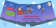 Christmas Quiz PowerPoint Editable