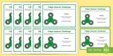 KS2 Fidget Spinner Thinking Skills Challenge Cards