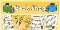 Book Shop Role Play Pack