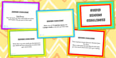 Guided Reading Challenge PowerPoint