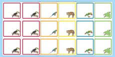 Rainforest Themed Editable Drawer Peg Name Labels