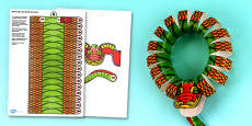 3D Chinese New Year Dragon Wreath Decoration Printable