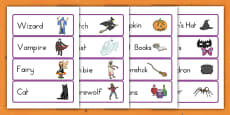 Halloween Costume Store Role Play Labels