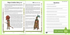 Maya Civilization Creation Story Comprehension