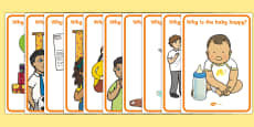 Why Question Emotion Cards