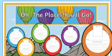 New Class Balloon Activity Display Pack