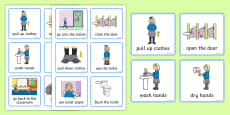Visual Timetable (Using The Toilet - Girls)