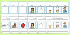 Workstation Pack: Three Step Sequencing Activity Pack