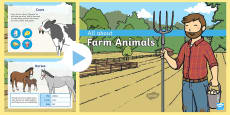 All About Farm Animals PowerPoint