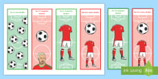 Wales Football Themed Reading Bookmarks