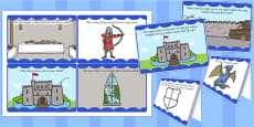 Medieval Castle Role Play Challenge Cards