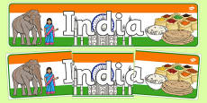India Display Banner