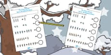 The Snow Queen Up to 10 Addition Sheet