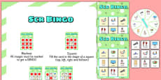 SCR Spinner Bingo