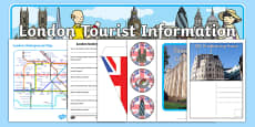 London Tourist Information Role Play Pack