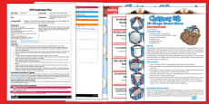 Christmas 3D Shape Board Game EYFS Adult Input Plan and Resource Pack