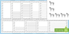 Horse Page Borders