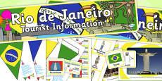 Rio de Janeiro Tourist Information Role Play Pack