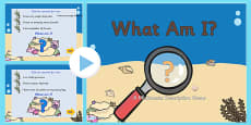 Under the Sea 'What am I?' Interactive PowerPoint Game
