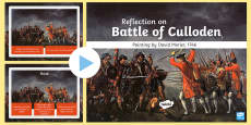 * NEW * The Battle of Culloden Painting Activity PowerPoint