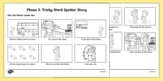 Phase 3 Tricky Word Spotter Story