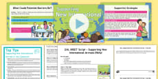 EAL INSET - Supporting New International Arrivals Resource Pack