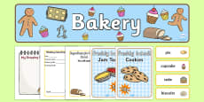 Bakery Role-Play Pack