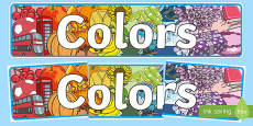 Color Display Banner