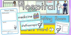 Australia - Hospital Role Play Pack